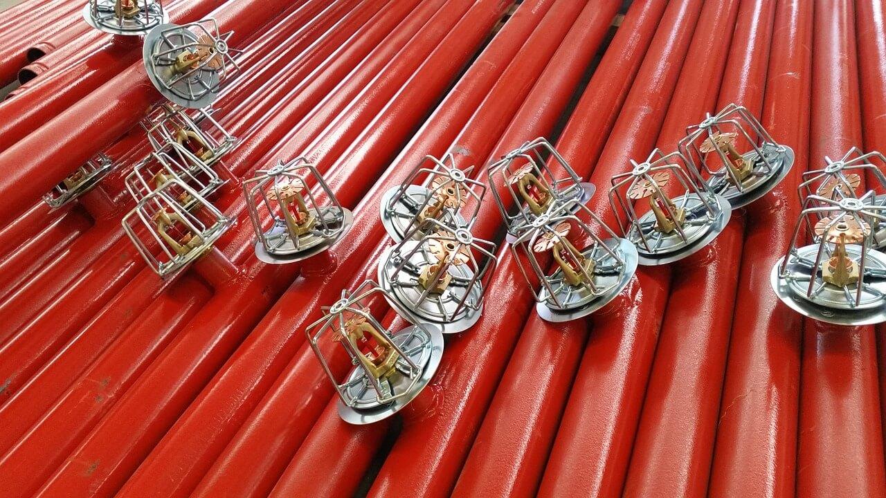 automatyczne system przeciwpożarowe - instalacja