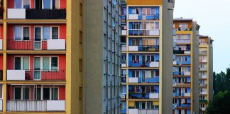 osiedla i bloki z wielkiej płyty