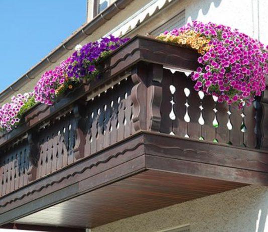 klimatyczny balkon